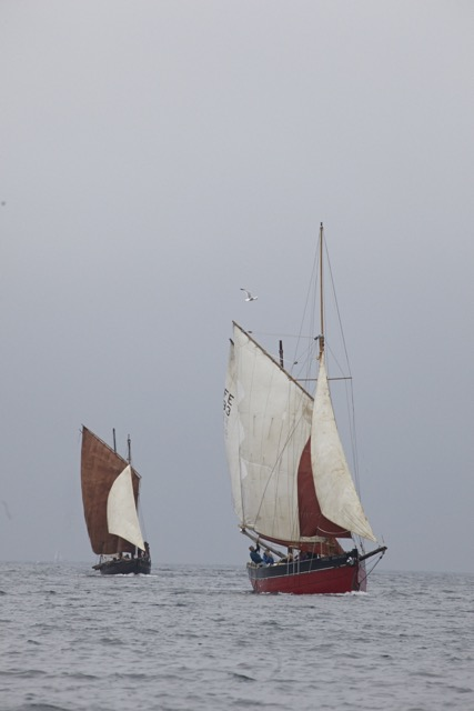 Mousehole, Cornwall boat festival